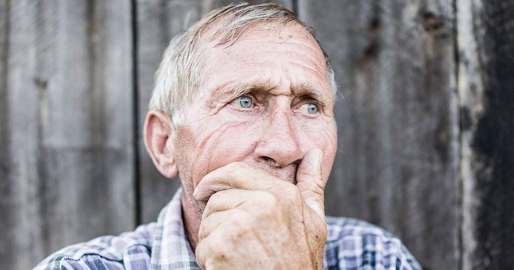 Senior Anxiety Blog Image