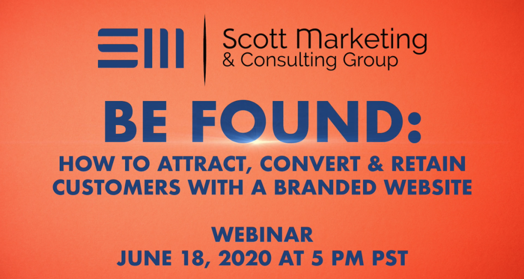 webinar with Scott Marketing Group